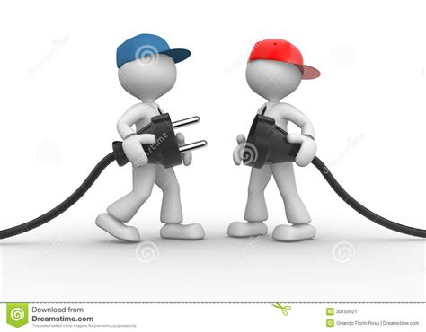 electric plug stock image image