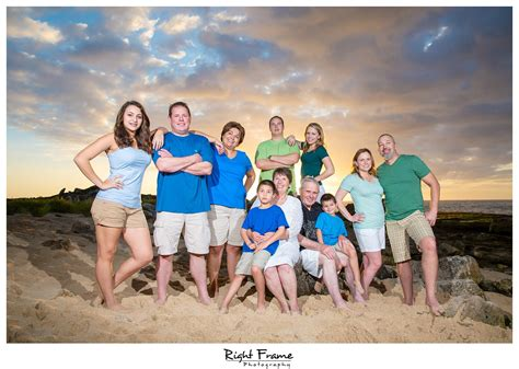 Sunset Family Pictures in Ko'Olina   Ronda by Right Frame