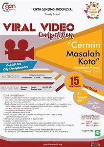 c gen viral video competition periode 1 31 agustus 2017 With 2017 september 1 2018 agustus 31