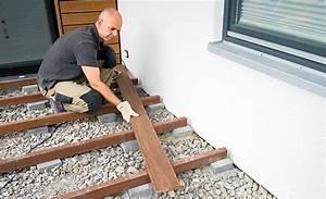 Holzplatten Für Balkon : bangkirai terrassendielen holzterrasse ~ Frokenaadalensverden.com Haus und Dekorationen