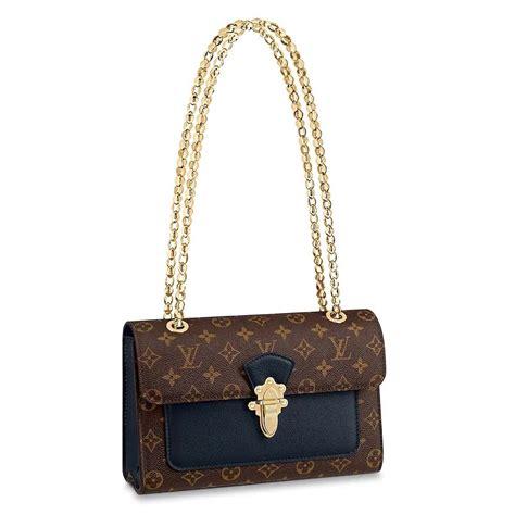 louis vuitton lv women victoire chain bag  monogram