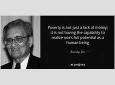 TOP 25 QUOTES BY AMARTYA SEN of 152 AZ Quotes