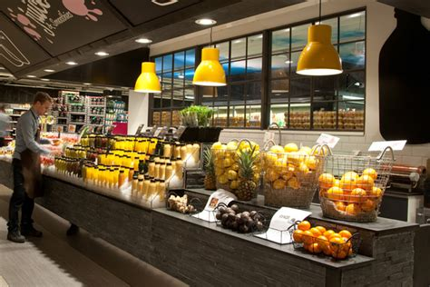 ica liljeholmen juice smoothie bar by idei concepts ab