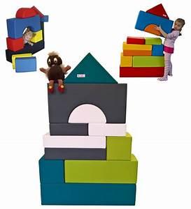 Schaumstoff Bausteine Kinderzimmer : motorikspiele 11 xxl softbausteine schaumstoffbausteine ~ Watch28wear.com Haus und Dekorationen