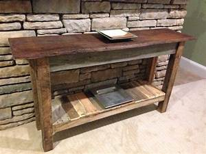 Barnwood Sofa Table Barnwood Sofa Table Ng471 Sisters Log