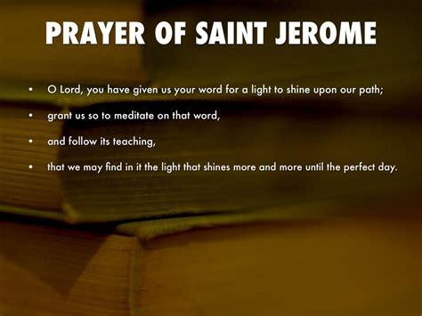 st jerome quotes  scripture quotesgram