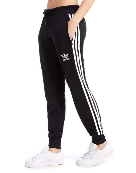 jogger womens adidas originals poly 3 stripes jd sports