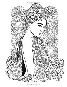 Coloring Pages/ LineArt Asian/Oriental | 100+ ideas on