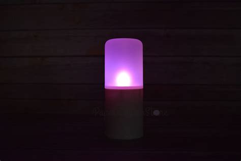 flameless 12 color led candle outdoor light with remote