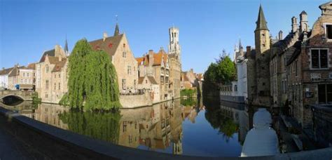 The Most Photographed Spot In Brugge Peaceful And Quiet