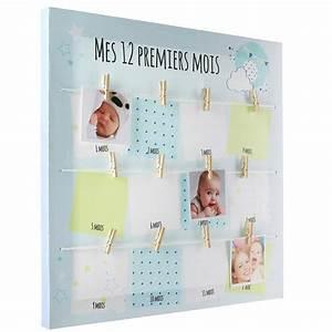 Pele Mele Bebe : toile cadre photo cadeau de naissance ~ Teatrodelosmanantiales.com Idées de Décoration
