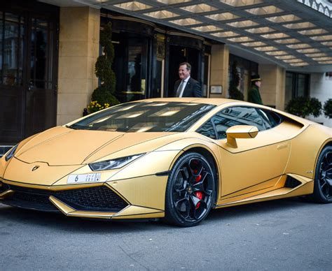 A Golden Lamborghini by Golden Lamborghini Given Parking Ticket In Mayfair Daily