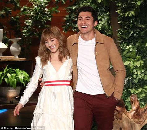 henry golding sexy constance wu and henry golding unveil trailer for crazy
