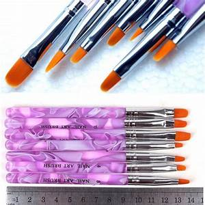 Pinsel Set Günstig : 7pcs nail pinsel stifte nail pinsel uv gel nagellack ~ A.2002-acura-tl-radio.info Haus und Dekorationen