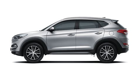 2019 Hyundai Tucson wide side view full side view on white background hd widescreen wallpaper ...