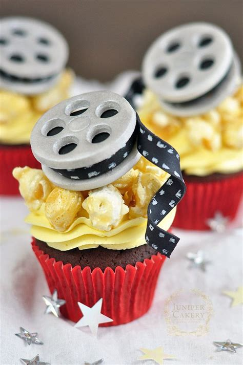 awesome  themed cupcakes
