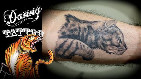 tatuagem gato antebraco danny tattoo tattoo cat forearm