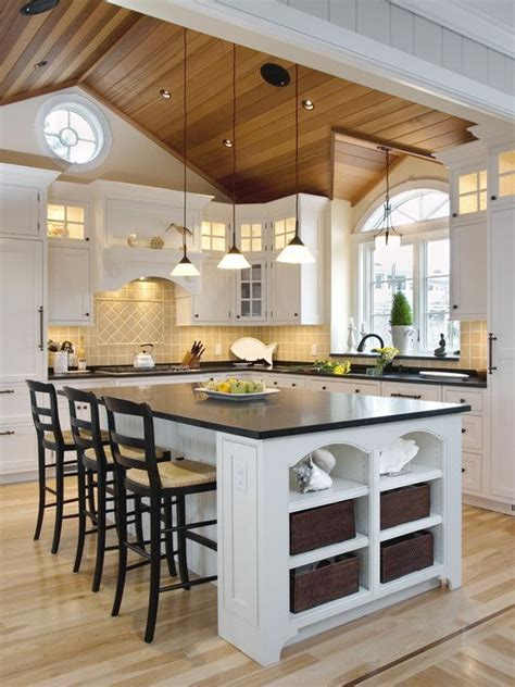 kitchen lighting ideas vaulted ceiling cathedral ceiling design pictures remodel decor and 8340
