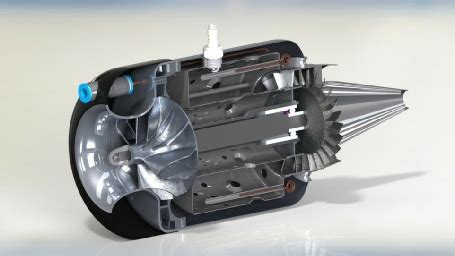 Model Boat Jet Engine by Microturbines Technical Guide And