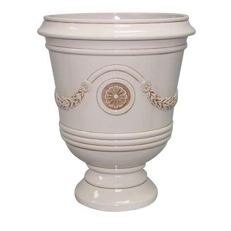 outdoor vase planters urn pot planter composite outdoor garden decor uv