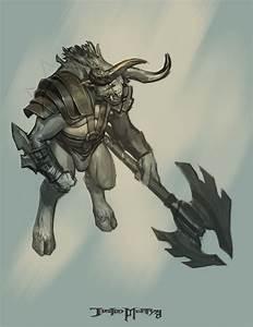 God of war-Minotaur 01 by NichtElf on DeviantArt