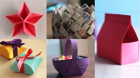 paper crafts diy paper craft ventuno art youtube