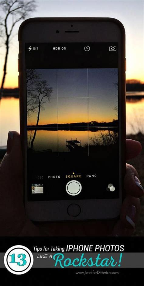 13 Tips for Taking iPhone Photos Like a Rockstar! | These ...