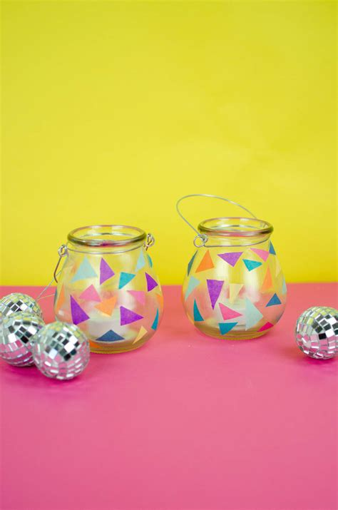 diy sweet  party decor diy luminaries   craft