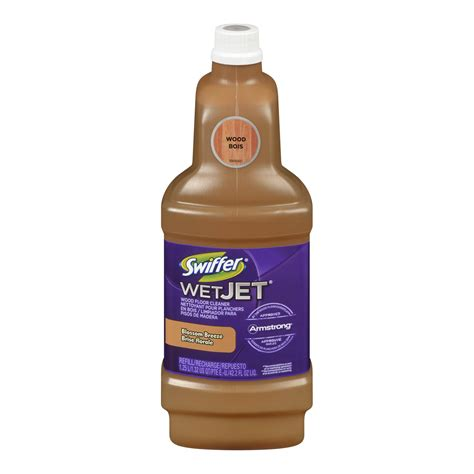 Swiffer Wood Floor Cleaner by Swiffer Wetjet Wood Floor Cleaner Solution Refill Inviting