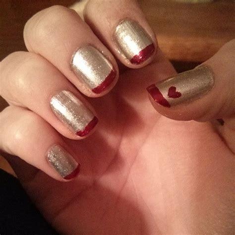 Uñas de gel o uñas acrílicas: Uñas de San Valentín: diseños y decoración (40 imágenes)
