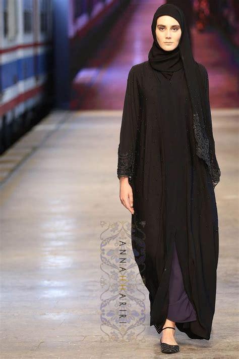 lulu dress arabic lulu lace abaya now in black annah hariri available for