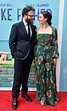 Seth Rogen and Lauren Miller pose on Like Father premiere ...
