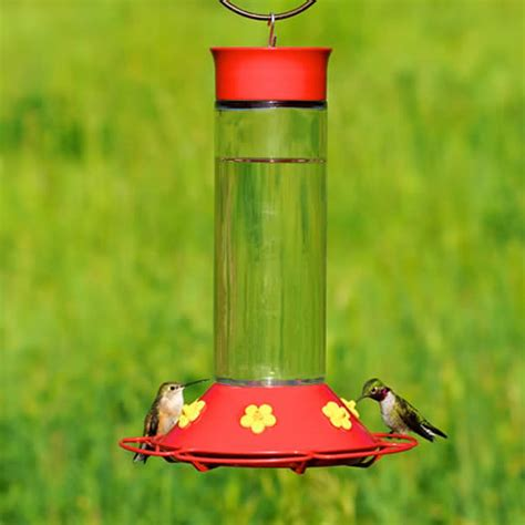 duncraft com glass hummingbird feeder 30 ounces