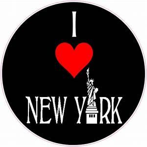 i love new york lady liberty sticker us custom stickers With custom stickers nyc