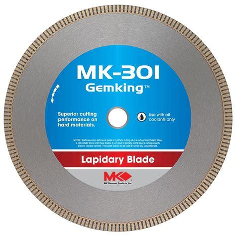 mk diamond  mk  gemking   lapidary wet