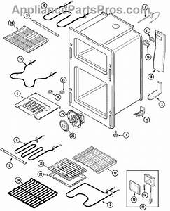 Parts For Maytag Mer6872baq  Oven Parts