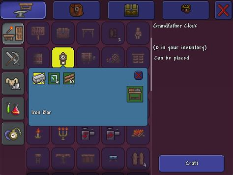 terraria crafting recipes mobile telling the time terraria community forums 3064