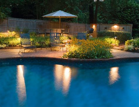 pool area lighting our blog outdoor lighting perspectives