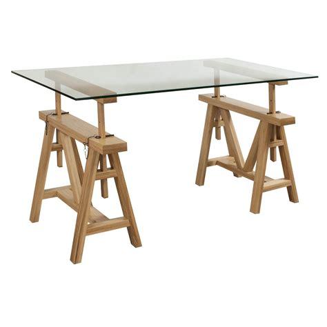 glass top desks gosit 30 215 60 glass top desk white oak national office