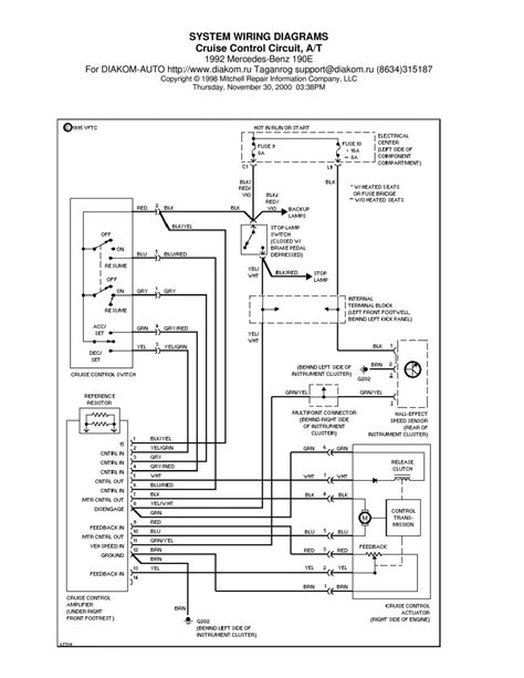 manual mercedes  mercedes benz   wiring diagram