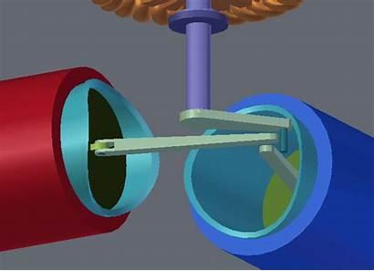 Engine Stirling Animation Piston Blender Pistons Rig