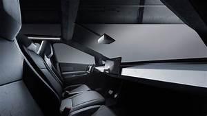 Tesla Cybertruck Electric Pickup Truck Interior Dashboard - MotorTrend