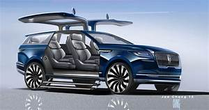 Lincoln Navigator Concept A QuotVery Spectacular Teaserquot