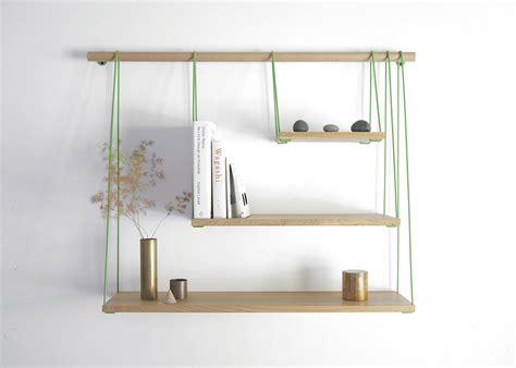 Wooden Bridge Shelves Diy Wall Shelf Project Minimalist