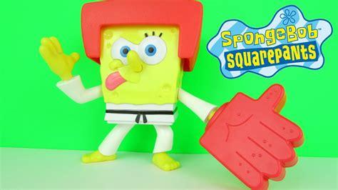 Spongebob Squarepants Karate Chopper Talking Action Figure