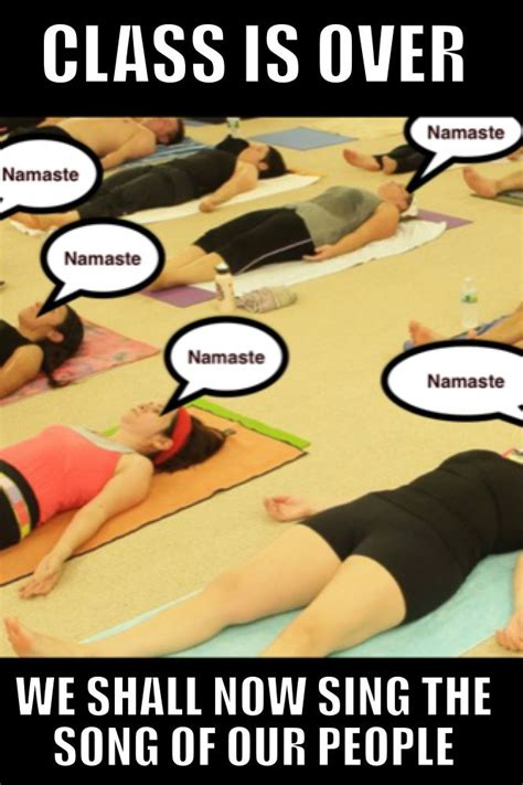 Meme Yoga - 115 best bikramemes images on pinterest funny stuff so funny and bikram yoga