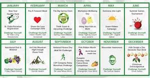 Sl Controls Launches 2019 Employee Health  U0026 Wellbeing Events Calendar