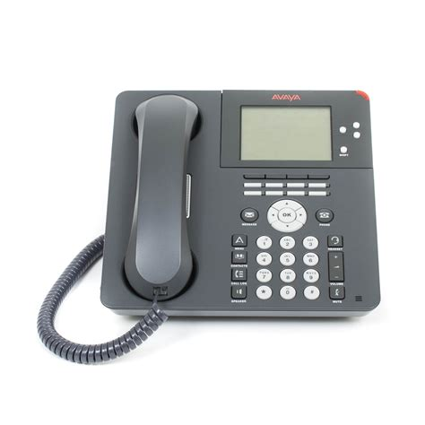 what of phone is this avaya 9650 ip telephone black refurbished looks new
