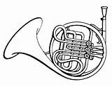 Horn French Coloring Drawing Horns Commons Wikimedia Psf Instruments Musik Drawings Instrument Musikinstrumente Corno Musical Francese Ausmalbilder Icon Jay Salvato sketch template