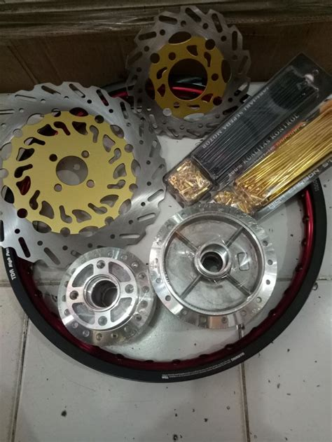 Harga Velg Tdr 2 Tone by Jual Sepaket Velg Tdr 2 Tone Paket Murah Satria Fu 150 Di